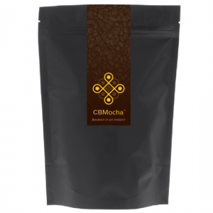 CBMocha CBD Coffee front of bag